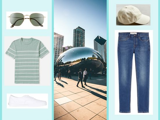 WHAT TO WEAR TO MILLENNIUM PARK Men's Outfit, Chicago