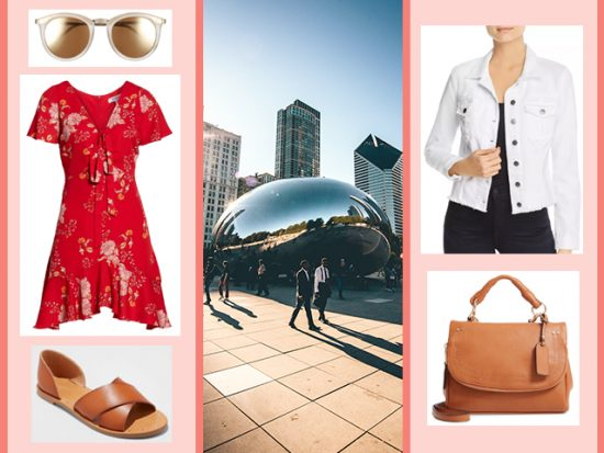 WHAT TO WEAR TO MILLENNIUM PARK Women's Outfit, Chicago