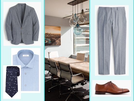 What to Wear for a Conference in Orlando, Men's Outfit