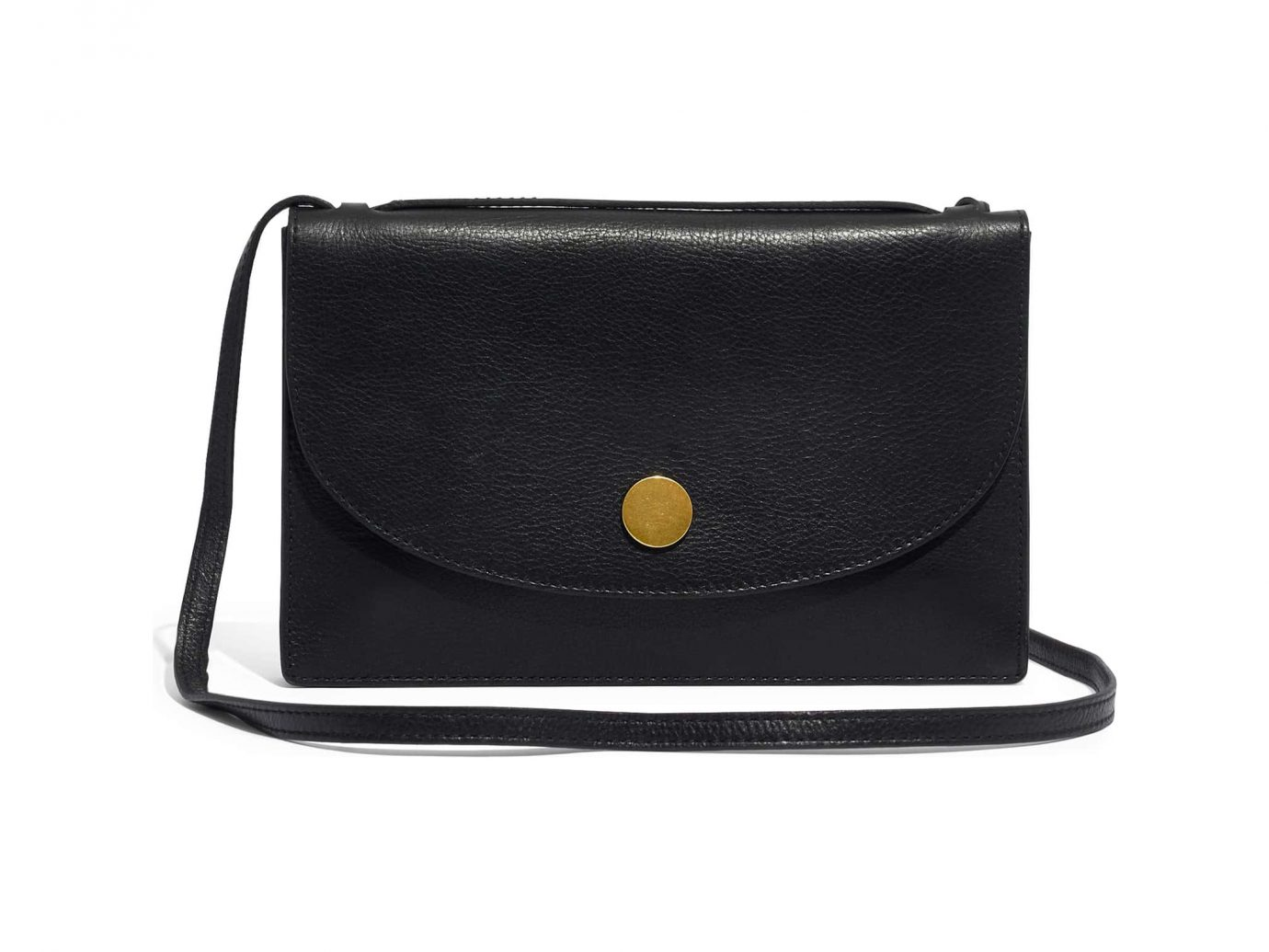 The Slim Convertible Leather Shoulder Bag MADEWELL