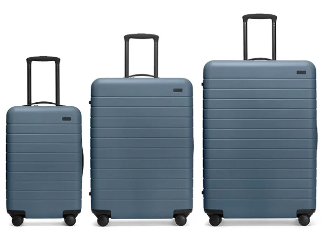Away Luggage Set of Three Suitcases