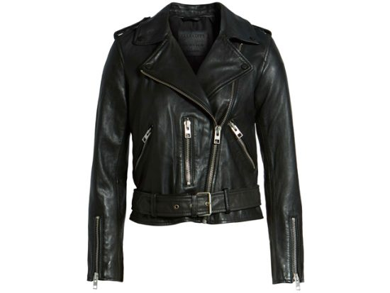 Women's Balfern Leather Biker Jacket ALLSAINTS