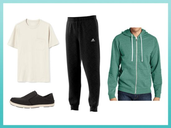 Best Airplane Athleisure Hoodie Outfit, Men's