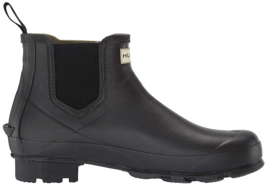 Black Women's Hunter Norris Chelsea Boots