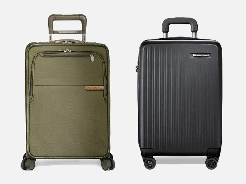 Briggs & Riley luggage.