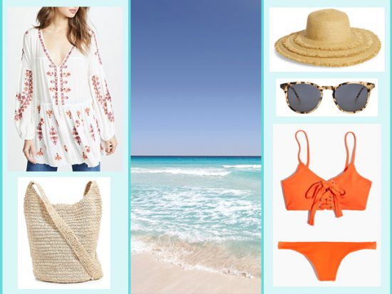 Cancun Mexico Women's Beach or Pool Outfit