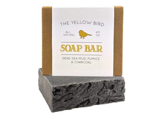 Dead Sea Mud Soap Bar.