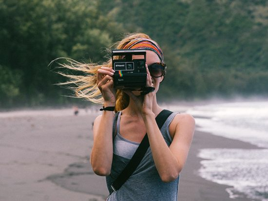 Don't forget the sentimental stuff - polaroid camera