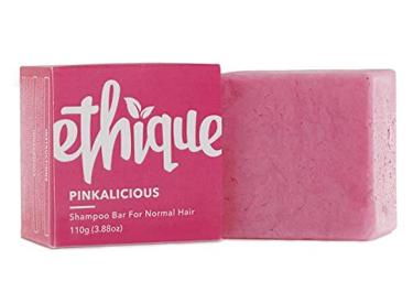 Ethique Eco-Friendly Shampoo Bar for Normal Hair, Pinkalicious.