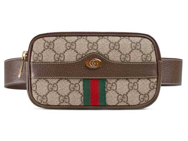 Ophidia GG Supreme Small Canvas Belt Bag GUCCI