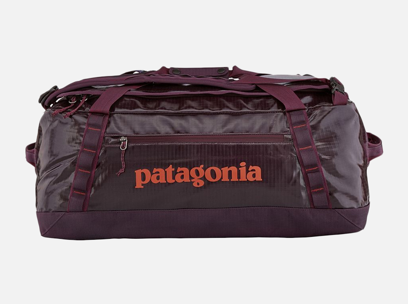 Patagonia Black Hole 55L Duffel Bag.