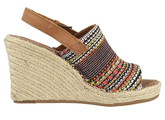TOMS wedge sandal
