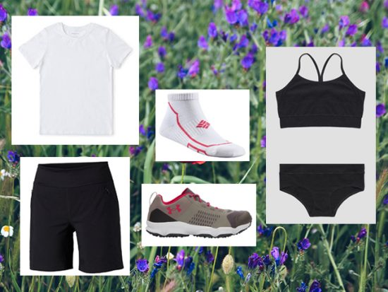 What to Wear Summer Spring Hiking, Women's Outfit