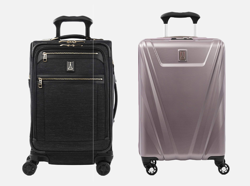 Travelpro luggage.