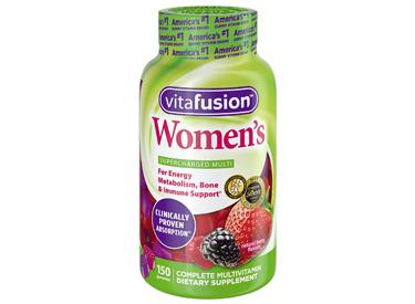 Vitafusion Women's Gummy Vitamins.