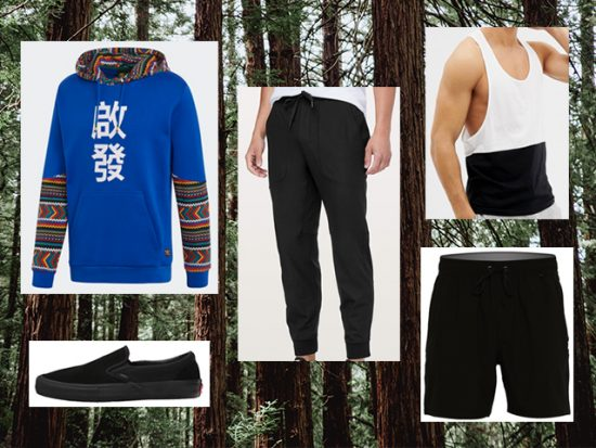 What to Wear Glamping, Men's Outfit