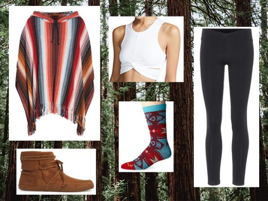What to Wear Glamping, Women's Outfit