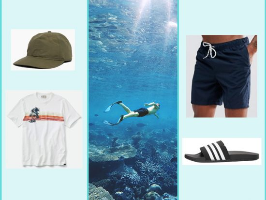 What to Wear Snorkeling Cancun Mexico, Men's Outfit