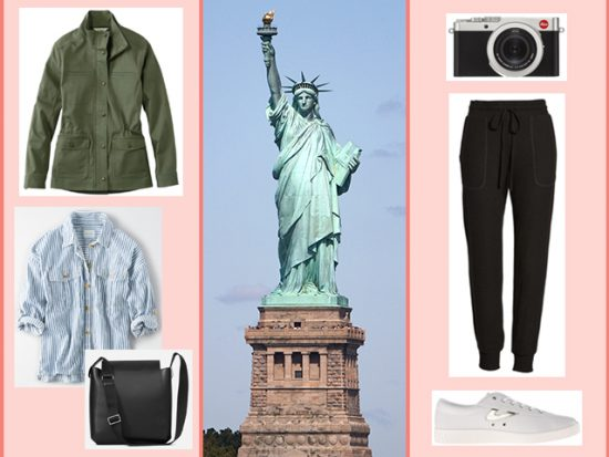 What to Wear Statue of Liberty-Women's Outfit NYC