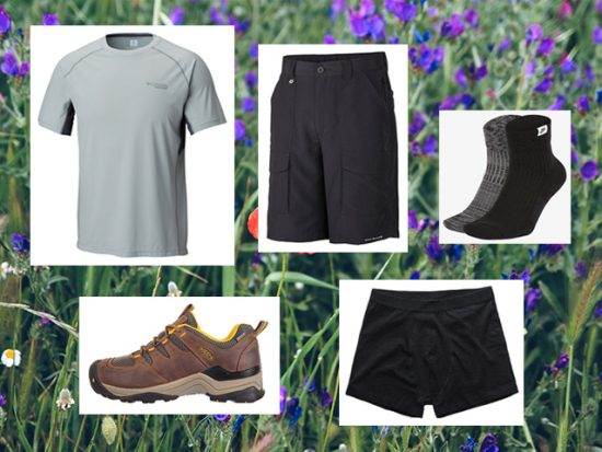 What to Wear Summer Spring Hiking, Men's Outfit