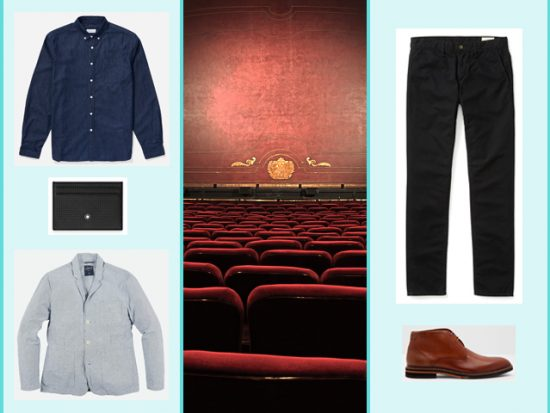 What to Wear Theater in London, Men's Outfit