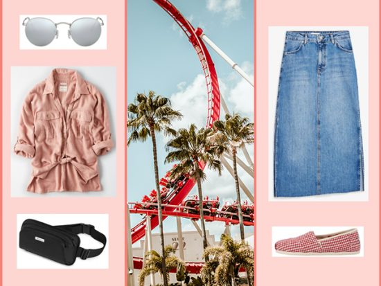 What to Wear Theme Park - Los Angeles Women's Outfit