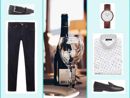 What to Wear to Dinner & Show, Las Vegas Men's Outfit