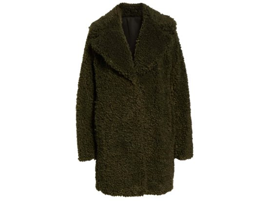 Faux Shearling Coat KENSIE Women's