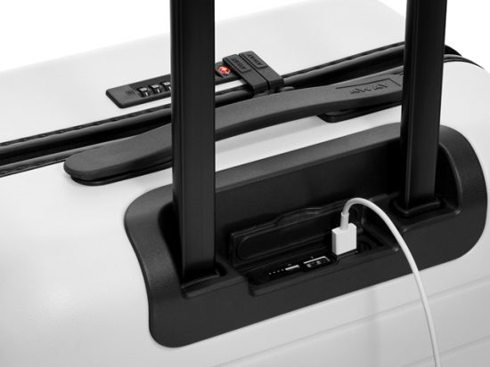 tech for luggage - usb charger - away luggage