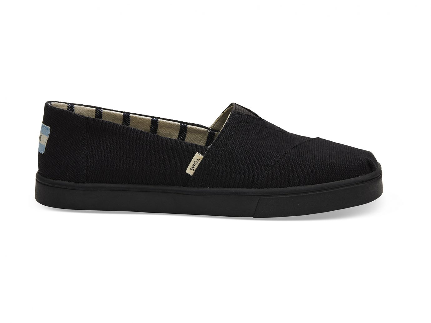 Black on Black Heritage Canvas Women's Cupsole Alpargatas Venice Collection