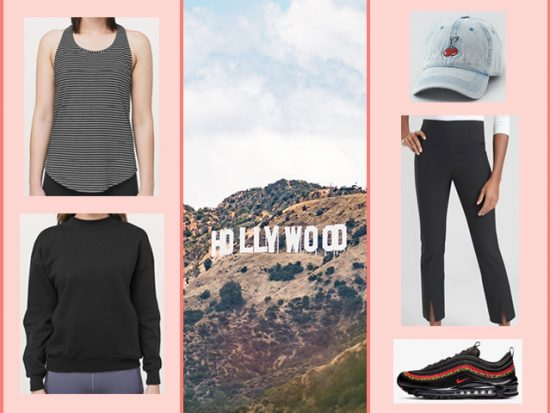 what to wear Hollywood sign hiking los angeles women's outfit
