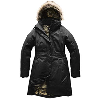 North Face Parka with fur hood