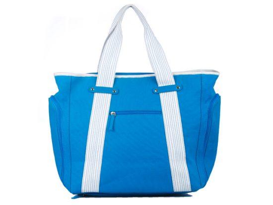 Dezzio Classic Functional Beach Tote Travel Bag, Aqua