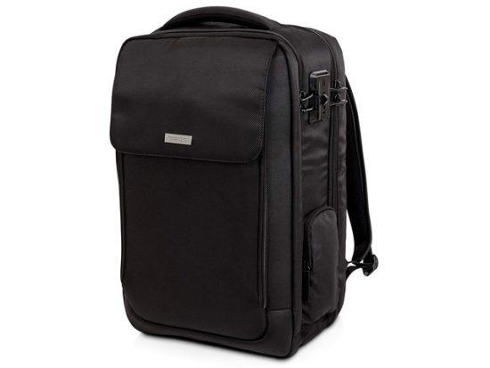 "Kensington SecureTrek 17"" Lockable Anti-Theft Laptop & Overnight Backpack"