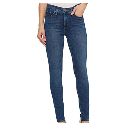 Skinny blue jeans by Levi's