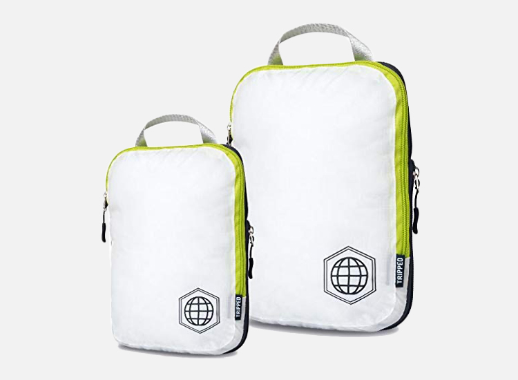 TRIPPED Travel Gear Compression Packing Cubes.