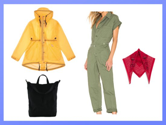 The Best Outfit for Festival Camping