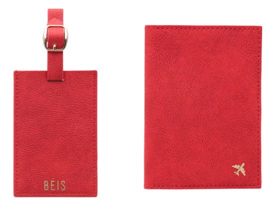 Travel Luggage Tag & Passport Holder Set BÉIS
