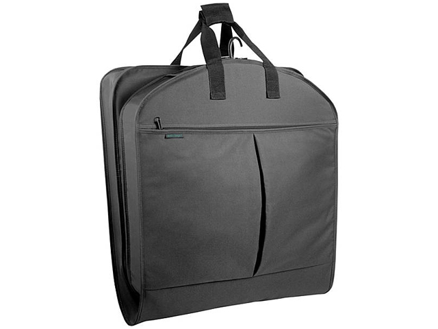 "Wally Bags 45"" Extra Capacity Garment Bag w/ Two Pockets"