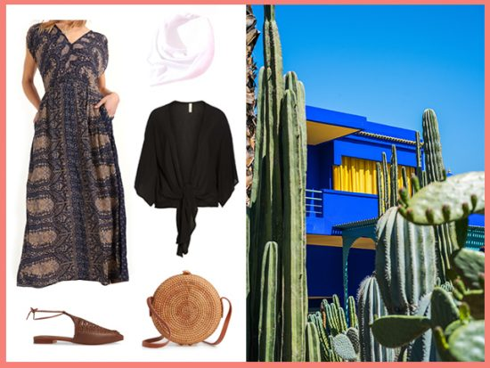 What to Wear for Majorelle Gardens Marrkesh, Women's Outfit