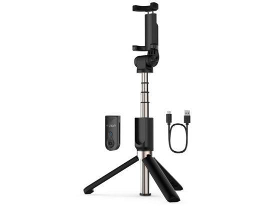 Yoozon Selfie Stick Tripod Bluetooth, Extendable Phone Tripod Selfie Stick with Wireless Remote Shutter