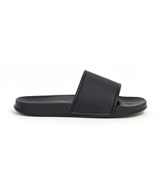 ASOS DESIGN Wide Fit sliders in black