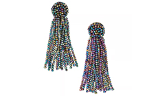 Baublebar JULIEA TASSEL EARRINGS-OILSLICK