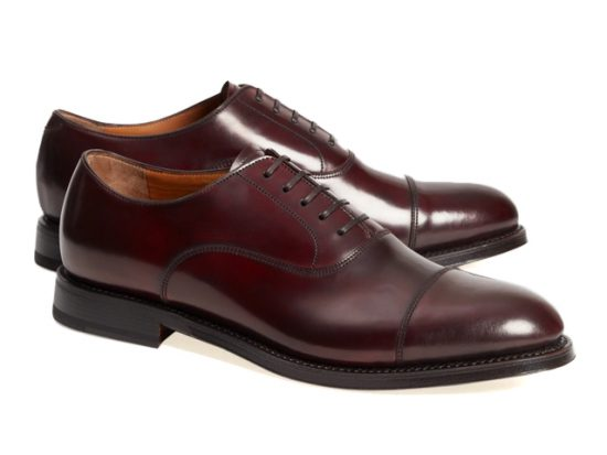Brooks Brothers Golden Fleece® Cordovan Captoes