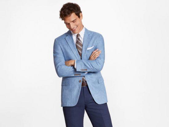 Brooks Brothers Regent Fit Linen Sport Coat