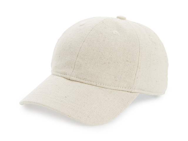 Cotton & Linen Baseball Cap MADEWELL