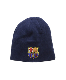 FC Barcelona Knitted Core Beanie Hat
