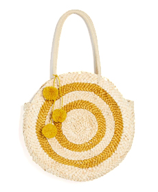 Free people A La Playa Straw Tote