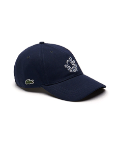 Lacoste x Keith Haring Keith Haring Embroidered Cotton Cap