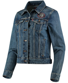 Levi's® NBA Denim Trucker Jacket raptors